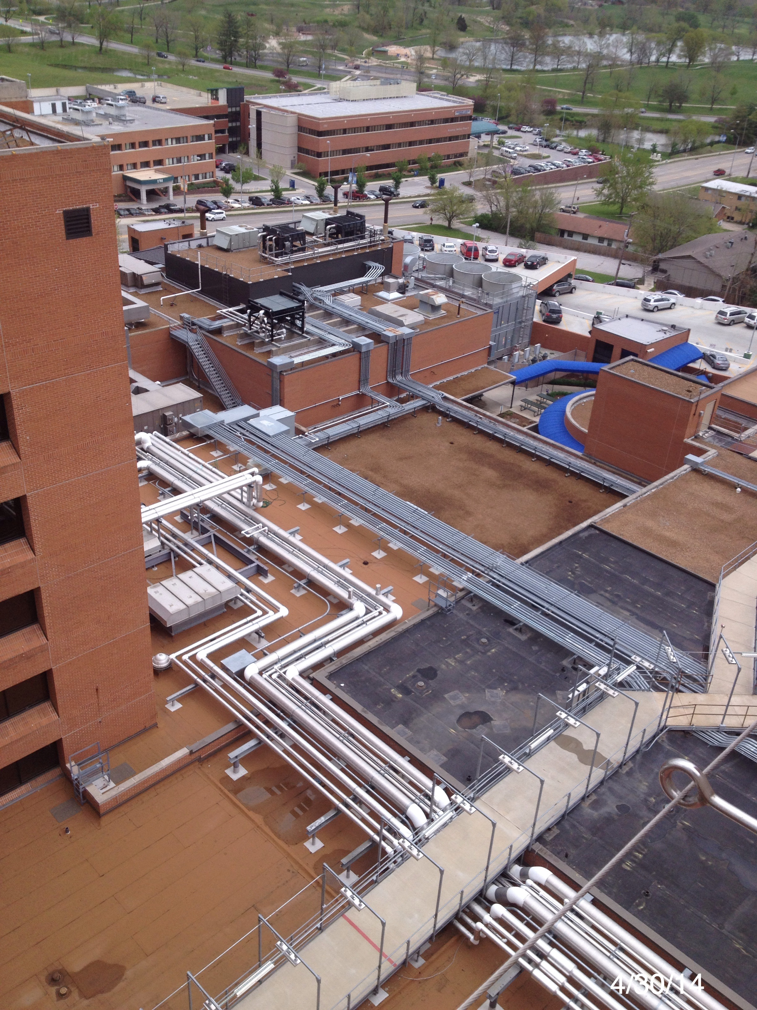 Boone Hospital - Columbia, MO  Roof Management Program